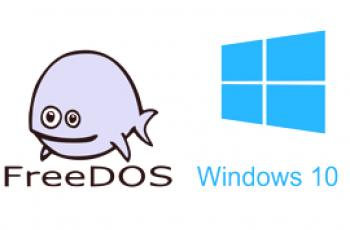 FreeDOS y Windows 10 - Comparación y lo que es mejor